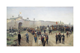Turkish Capitulation at Nikopol on 4th June 1877, 1883 Giclee Print by Nikolai Dmitrievich Dmitriev-Orenburgsky