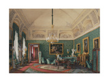Interiors of the Winter Palace, the First Reserved Apartment, 1867 Giclee Print by Eduard Hau