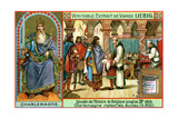 Episodes in the History of Belgium Up Until the 13th Century: Charlemagne Giclee Print