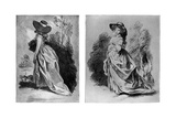 Gainsborough's Studies for His Celebrated Portrait of the Duchess of Devonshire, C1787 Giclee Print by Thomas Gainsborough