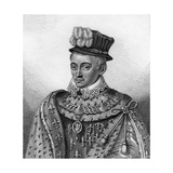 Henry Stuart, Lord Darnley, Second Husband of Mary, Queen of Scots, 1807 Giclee Print