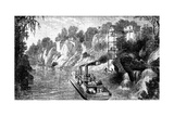 Loading a Cotton Steamer, USA, C1880 Giclee Print
