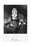 Hannah More, English Religions Writer, Poet and Playwright, C1830 Giclee Print by Henry William Pickersgill