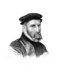 Sir Thomas Gresham, English Merchant and Financier Giclee Print