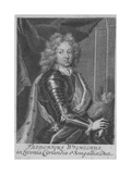 Portrait of Frederick William Kettler, Duke of Courland and Semigallia, C. 1710 Giclee Print by Johann Martin Bernigeroth