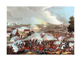 Battle of Waterloo, Belgium, 1815 Gicléetryck av William Heath