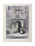 Crutched Friars, London, 1851 Giclee Print by John Wykeham Archer
