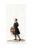 Lord Seal Keeper, Costume Design for Shakespeare's Play, Henry III, 19th Century Giclee Print