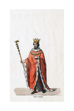 Earl of Surrey, Costume Design for Shakespeare's Play, Henry VIII, 19th Century Giclee Print