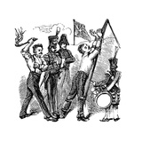 British Military Discipline, 19th Century Giclee Print
