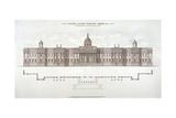National Gallery, Trafalgar Square, Westminster, London, C1838 Giclee Print
