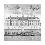 Morden College, St German's Place, Greenwich, London, C1750 Giclee Print