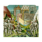 The Marriage of Margrave Sigismund of Brandenburg to Mary of Hungary, Late 15th Century Giclee Print