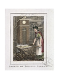 Baking or Boiling Apples, Cries of London, 1804 Giclee Print by William Marshall Craig