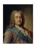 Portrait of Prince Alexey Mikhailovich Cherkassky, 1760S Giclee Print by Ivan Petrovich Argunov