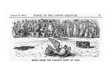 Sport from the Pigeon's Point of View, 1882 Giclee Print by Priestman Atkinson