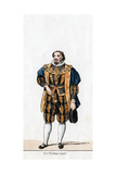 Sir Thomas Lovell, Costume Design for Shakespeare's Play, Henry VIII, 19th Century Giclee Print
