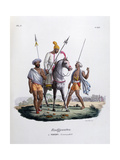 Rajputs, 1828 Giclee Print by  Marlet et Cie