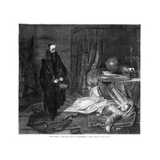 Seni Gazing on the Body of Wallenstein, 1864 Giclee Print by Karl Theodor von Piloty
