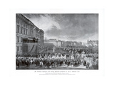 The Accession to the Throne of Frederick William IV of Prussia, 15 October 1840 Giclee Print by Franz Kruger