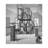 Giant Galvanometer in the Physics Laboratory, Cornell University, New York, USA, 1886 Giclee Print