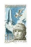 Yuri Gagarin, Soviet Russian Cosmonaut, 1961 Giclee Print