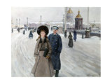 From the School, 1914-1917 Giclee Print by Mikhail Abramovich Balunin