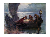 The Passing of Arthur, 1925 Giclee Print