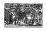 Marylebone Gardens, Marylebone, London, 1761 Giclee Print by John Donowell