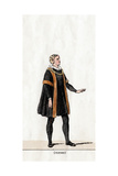 Thomas Cromwell, Costume Design for Shakespeare's Play, Henry VIII, 19th Century Giclee Print