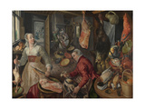 The Four Elements: Fire, 1569 Giclee Print by Joachim Beuckelaer
