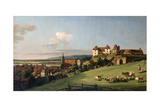 View of Pirna from the Sonnenstein Castle, 1750S Giclee Print by Bernardo Bellotto