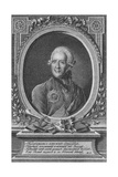 Portrait of the Poet Alexander Sumarokov (1717-177), Late 18th Century Giclee Print by James Walker