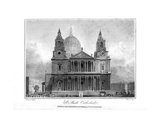 St Paul's Cathedral, London, 1804 Giclee Print by  Reeve