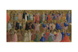 The Virgin Mary with the Apostles and Other Saints, C. 1423-1424 Giclee Print by  Fra Angelico