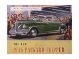 Poster Advertising a Packard Clipper, 1946 Giclee Print