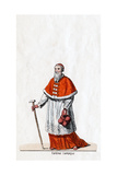 Cardinal Campeius, Costume Design for Shakespeare's Play, Henry VIII, 19th Century Giclee Print