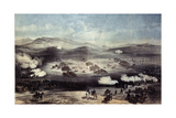 The Battle of Balaclava on October 25, 1854 Giclee Print by William Simpson