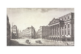 Mansion House (Exterior), London, C1751 Giclee Print by Thomas Bowles