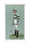 John Evelyn Watts, British Jockey, 1903 Giclee Print