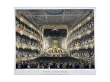 Interior View of Covent Garden Theatre, Bow Street, Westminster, London, 1808 Giclee Print by Thomas Rowlandson