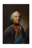 Portrait of Caspar Von Saldern, (1711-178), Middle of the 18th Century Giclee Print by Vigilius Erichsen