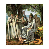 Druids, or British Priests Giclee Print