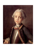 Portrait of Count Nikolai Petrovich Sheremetev as Child, 1750S Giclee Print by Ivan Petrovich Argunov
