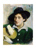 Portrait of the Artist Marc Chagall Giclee Print by Yuri Moiseyevich Pen