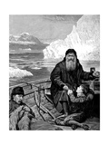 English Navigator Henry Hudson on His Last Voyage Giclee Print by John Collier