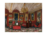 Interiors of the Winter Palace, the Study of Grand Princess Maria Nikolayevna, End of 19th C Giclee Print by Konstantin Andreyevich Ukhtomsky