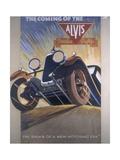 Poster Advertising Alvis Cars, 1930 Giclee Print