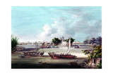 Macao Fort, Canton River, China Giclee Print