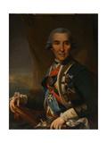 Portrait of Ivan Loginovich Golenishchev-Kutuzov (1729-180), Early 1800s Giclee Print by Semyon Glukovsky